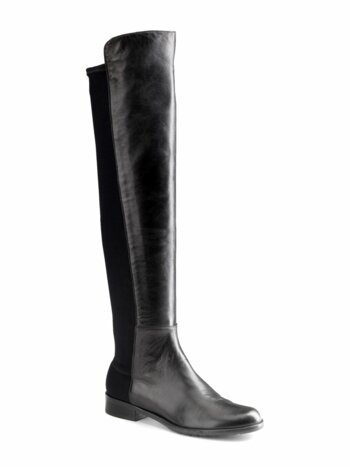 5050 Leather Over-The-Knee Boots
