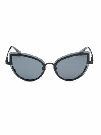 Adulation Gray Cat Eye Sunglasses