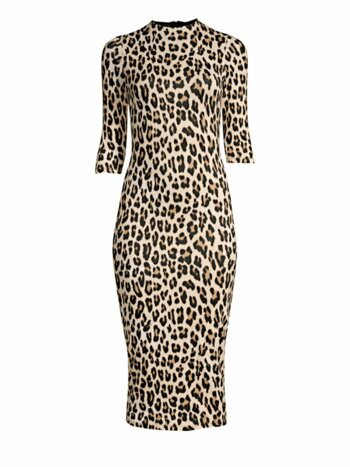 Delora Leopard Bodycon Dress
