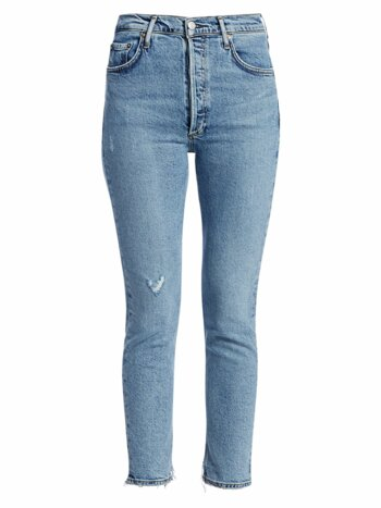 Nico High-Rise Anke Cropped Slim-Fit Jeans