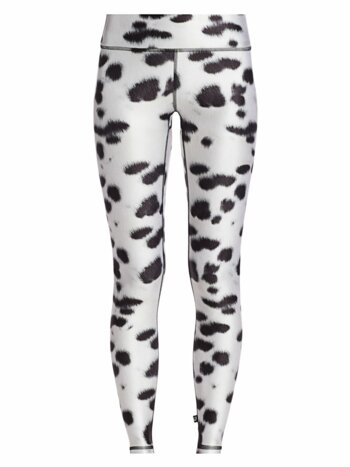 Dalmation-Print Leggings