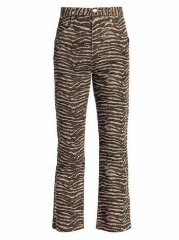 Sharma Animal Print Ankle Pants