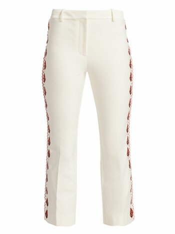 Crosby Embroidered Flare Pants
