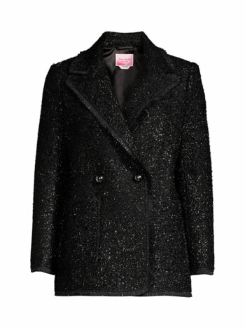 Tinsel Tweed Double Breasted Blazer