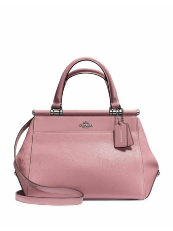Grace Leather Satchel