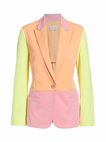 Darwin Sunwashed Colorblocked Blazer