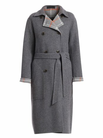 Rach Wool Blend Reversible Coat