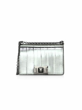 Mini Mimi Metallic Leather Crossbody Bag