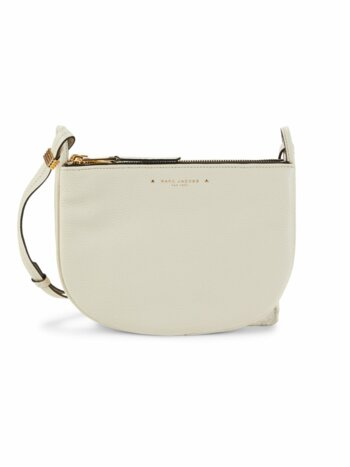 Supple Group Leather Crossbody Bag
