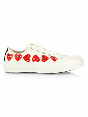 Multi Heart Low-Top Sneakers