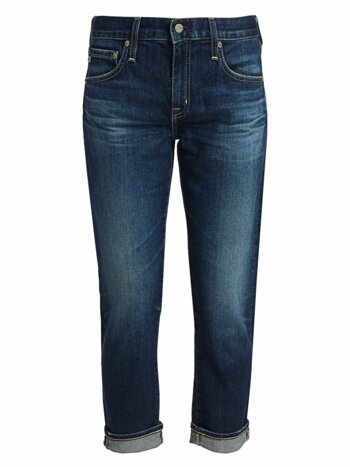Ex-Boyfriend Slim-Fit Crop Cuff Jeans