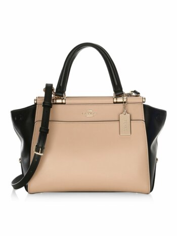 Grace Colorblock Leather Bag