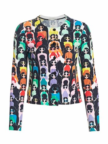 Ruthy Stace Face Cardigan