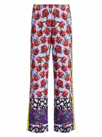 Elba Full-Length Printed Pants
