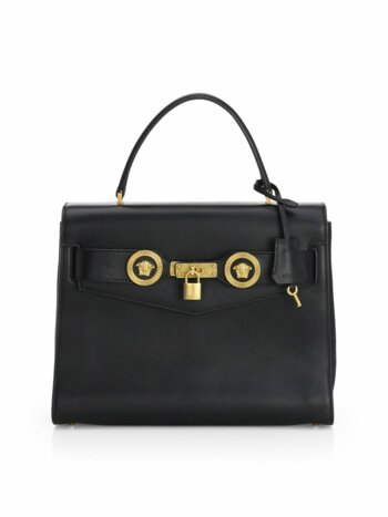 Icon Leather Satchel Bag