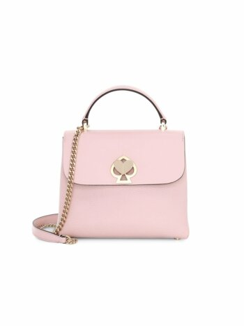 Mini Romy Twistlock Leather Satchel