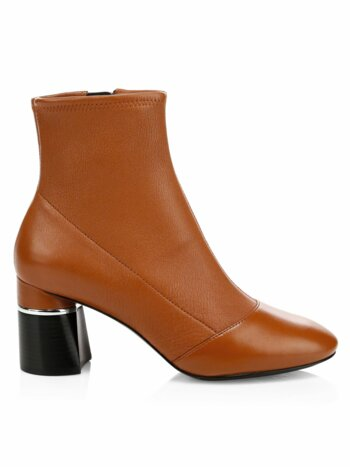 Drum Leather Ankle Boots