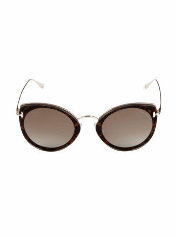 53MM Cat Eye Sunglasses