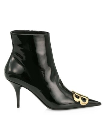 BB Patent Leather Ankle Boots