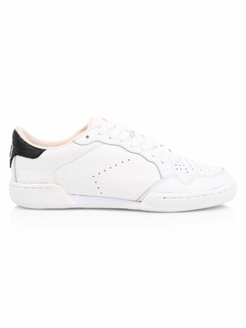Jerri Leather Low-Top Sneakers