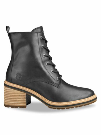 Sienna Leather Combat Boots