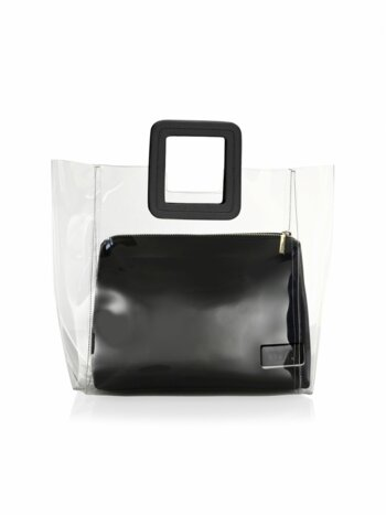 Shirley PVC & Leather Tote