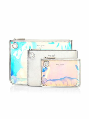Sam Iridescent Pouch Trio