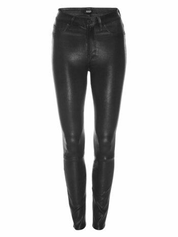Barbara High-Rise Super Skinny Leather Pants