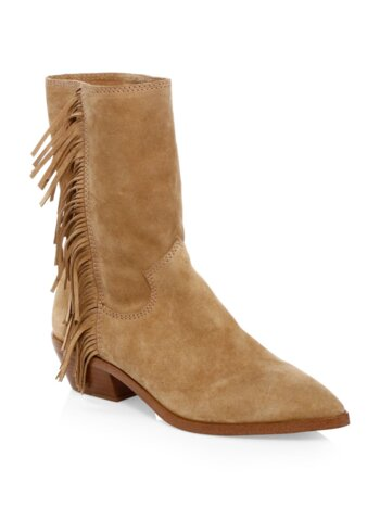 Krissa Suede Ankle Boots
