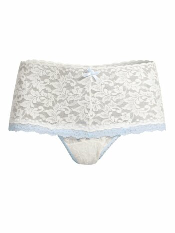 Colorplay Retro Lace Thong