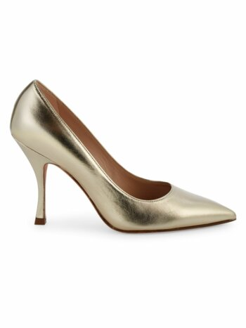 Tippi Metallic Leather Pumps