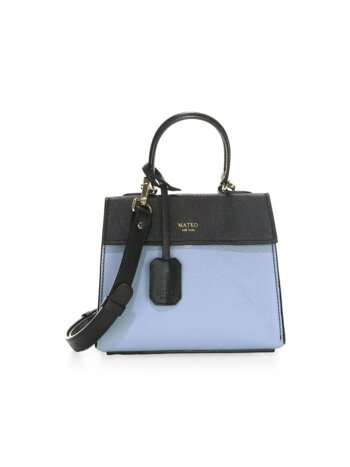 Mini The Elizabeth II Leather Satchel