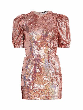 Katie Puff Sleeve Sequin Mini Dress
