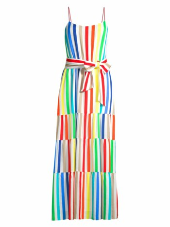 Janan Striped Maxi Dress