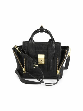 Mini Pashli Leather Satchel