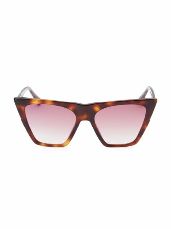 Metropolitan 55MM Cat Eye Sunglasses