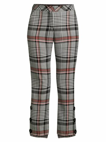 Churchill Plaid Steph Hem Pants