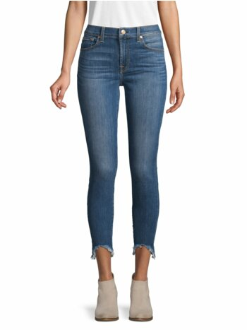 Gwenevere High-Rise Skinny Ankle Jeans