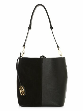 5050 Leather & Suede Bucket Bag