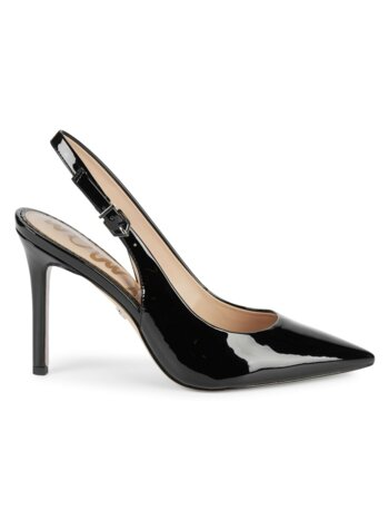 Hastings Patent Slingback Pumps