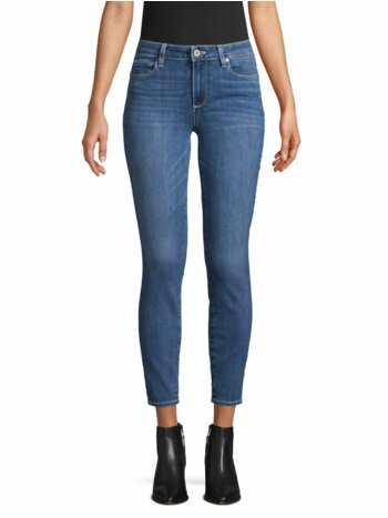 Five-Pocket Ankle Jeans