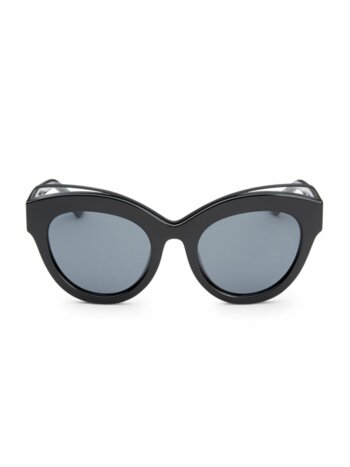 Halogazer Black Oversized Sunglasses