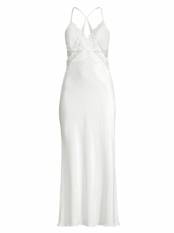Sara Satin & Lace Sleep Gown