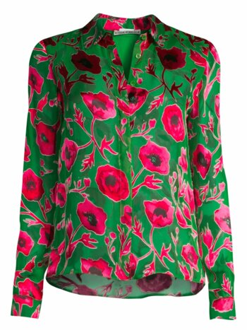 Willa Poppy Print Top
