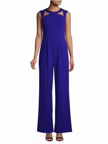 Cutout Wide-Leg Jumpsuit