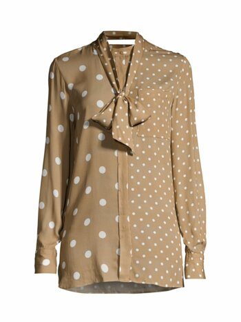 Nina Mixed Polka Dot Blouse