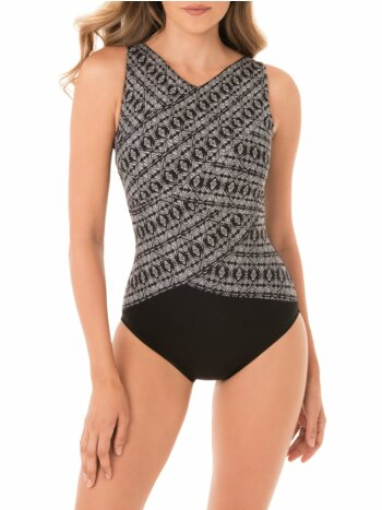 Incan Silver Brio One-Piece Swimsuit