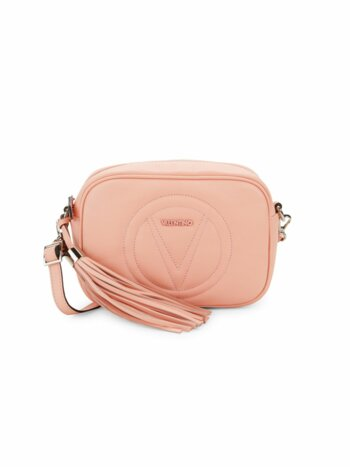 Mia Tassel Leather Crossbody Bag