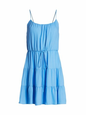 Cheyla Drawstring Ruffle Dress