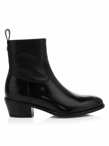 Jesse Patent Leather Ankle Boots